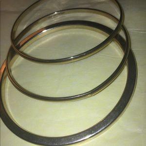 3 Metal Bracelets